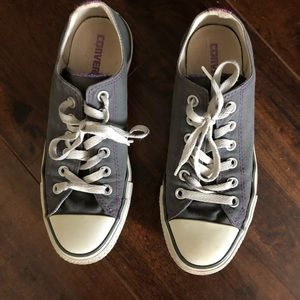 Limited Edition Purple All Star Converse Sneakers